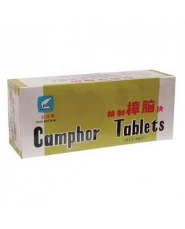 Camphre raffiné en tablettes est un insecticide naturel