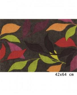 Tapis Living Mats anti-dérapant Noir-Flow 42x64 cm LM037-38-PM