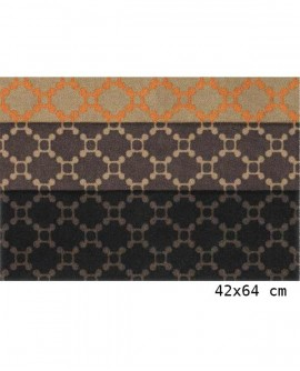 Tapis Living Mats anti-dérapant Graphic 42x64 cm LM053-18-PM