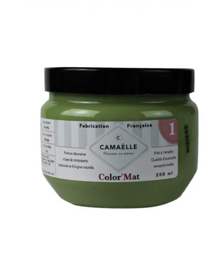 Peinture ColorMat CAMAELLE Vert Riziere 200ml