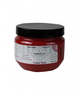 Peinture ColorMat CAMAELLE Rouge Grenade 200ml