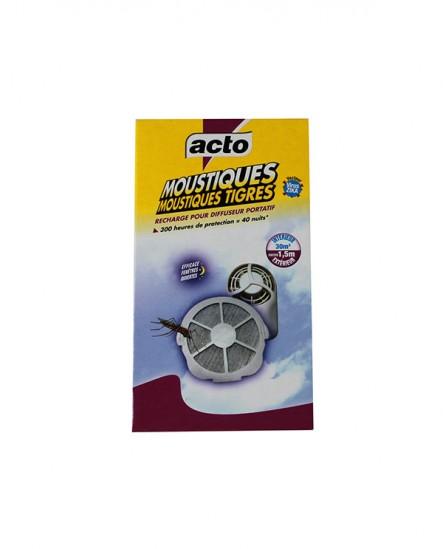 Recharge pour diffuseur portatif anti-moustique Acto