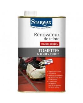 Renovateur de teinte Terre cuite Tomette Acajou STARWAX 1L