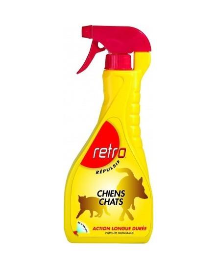 Répulsif Chiens chats vaporisateur RETRO