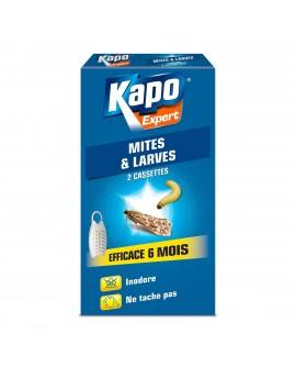 Cassettes anti-mites et larves KAPO