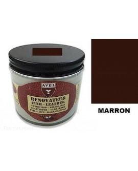 Baume rénovateur cuir Marron AVEL