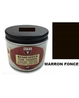 Baume rénovateur cuir Marron Foncé AVEL