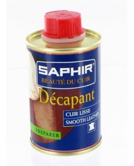 décapant cuirs lisses - 100mL Saphir