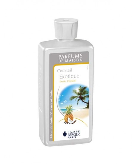 Parfum Berger Cocktail exotique 500ML.