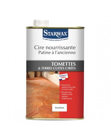 Cire Tomette Brun terre cuite Starwax 1L