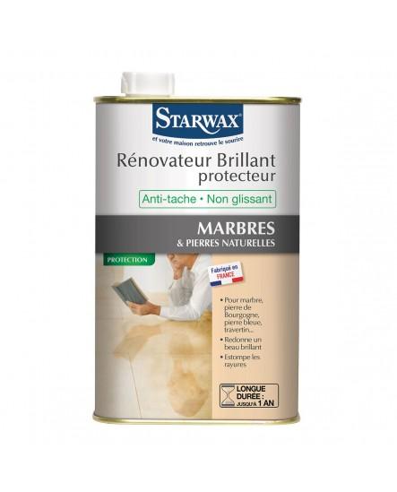 R novateur brillant protecteur marbre starwax 1l for Nettoyage marbre exterieur
