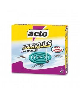 Spirales anti moustiques x10 ACTO