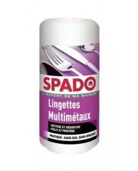Lingettes Nettoyantes Multi-métaux SPADO