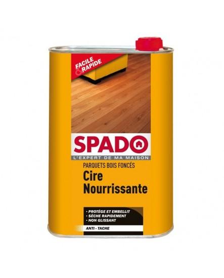 Cire nourrissante parquets bois foncés SPADO 1L.