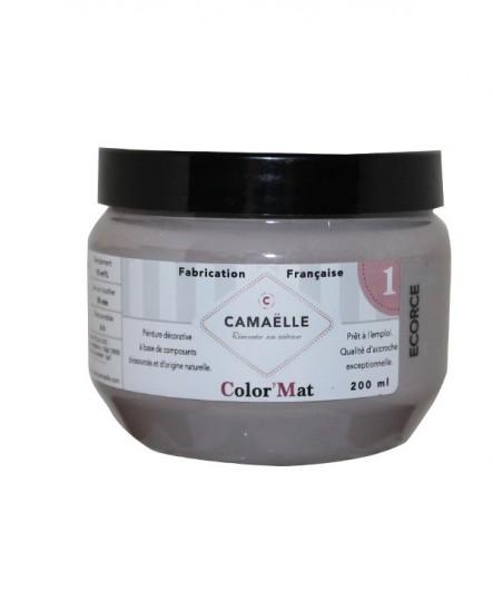 Peinture ColorMat CAMAELLE Gris Ecorce