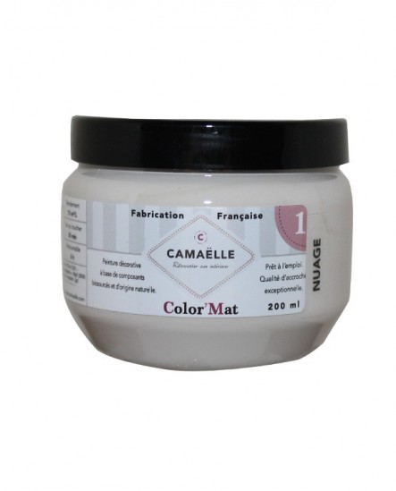 Peinture ColorMat CAMAELLE Beige Nuage 200ml