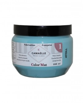 Peinture ColorMat CAMAELLE Bleu Atoll 200ml