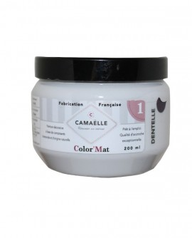 Peinture ColorMat CAMAELLE Blanc Dentelle 200ml