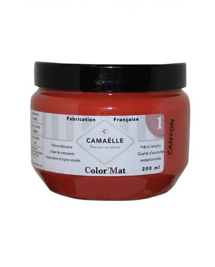 Peinture ColorMat CAMAELLE Rouge Canyon