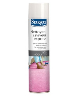 Nettoyant raviveur express tapis Moquette STARWAX