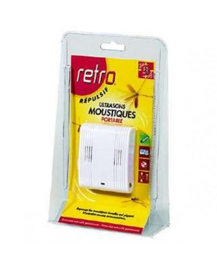 Répulsif Ultrason Portable Moustiques  RETRO