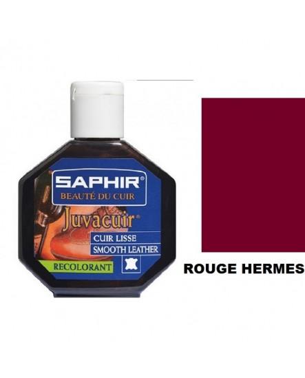 Recolorant cuir JUVACUIR SAPHIR Rouge Hermès