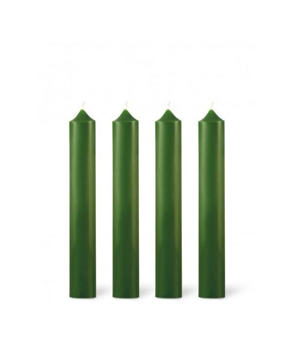 bougie classique 11h point la ligne vert sapin. Black Bedroom Furniture Sets. Home Design Ideas