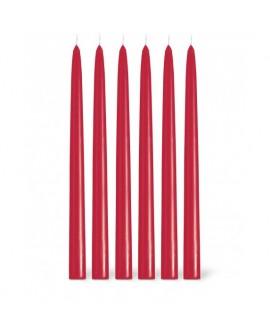 Bougie Flambeau Point à La Ligne Rouge Noël