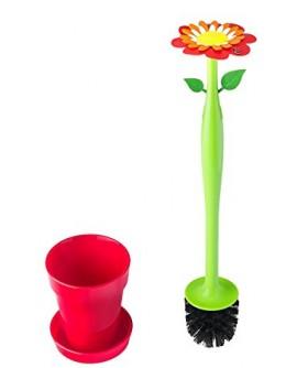 Set Brosse WC Flower Vigar