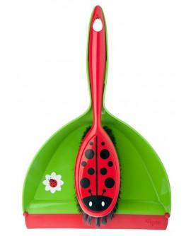 Pelle + Balayette Ladybug Vigar