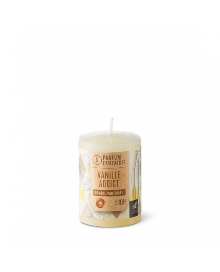 Bougie votive parfumée Vanille addict ivoire