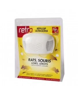 Répulsif Ultrason Araignée, Souris, Rat  RETRO