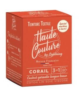 Teinture textile Haute Couture Corail