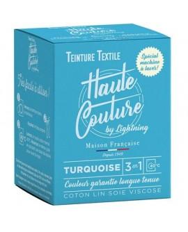Teinture textile Haute Couture Turquoise