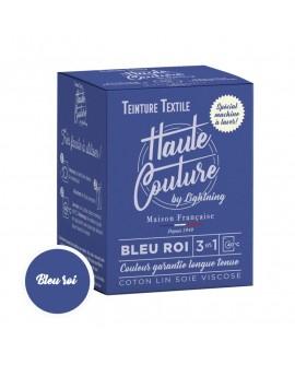 Teinture textile Haute Couture Bleu roi