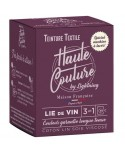 Teinture textile Haute Couture Lie de vin