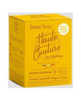 Teinture Textile Haute Couture Jaune Safran
