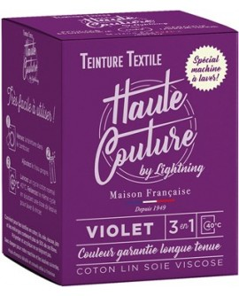 Teinture Textile Haute Couture violet