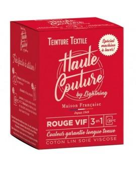 Teinture Textile Haute Rouge Vif