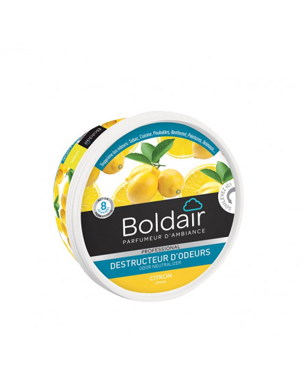 Absorbeur d'odeur gel Boldair citron