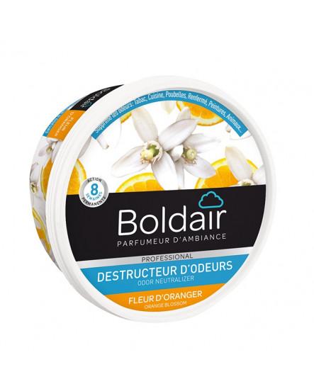 Absorbeur d'odeur gel Boldair fleur d'oranger