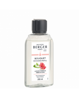 Recharge Bouquet Amour d'Hibiscus Maison Berger 200ml
