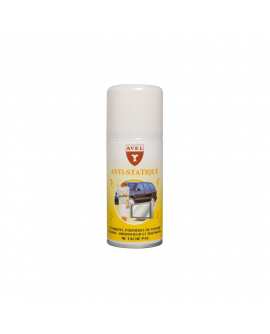 Spray antistatique textile 125ml AVEL