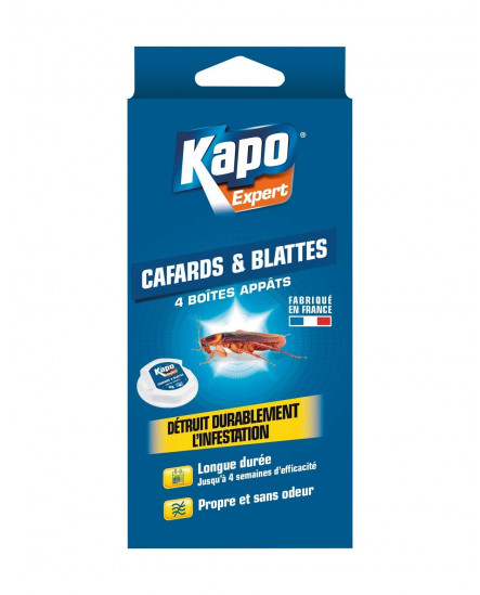 Pièges blattes cafards x5 KAPO
