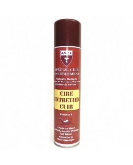 Cire spéciale entretien du cuir d'ameublement AVEL