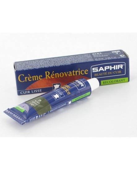 Crème rénovatrice recolorante Kaki SAPHIR